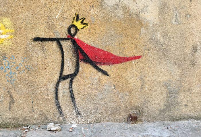 Graffiti in Venedig