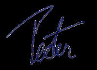 Peter Unterschrift